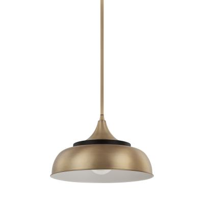 Capital Lighting - 325713BX - One Light Pendant - Brass and Onyx  sc 1 st  Dupage Lighting & Dupage Lighting