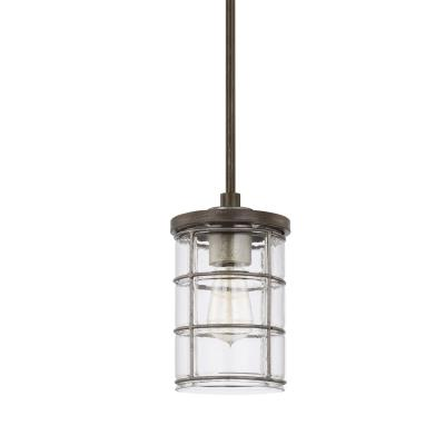 Capital lighting 329411ug 439 colby one light pendant urban grey
