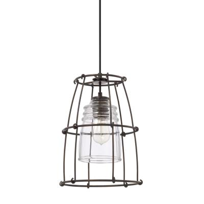Capital lighting 329711ng 462 turner one light pendant nordic grey