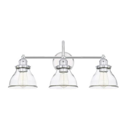 Capital lighting 8303ch 461 three light vanity fixture chrome