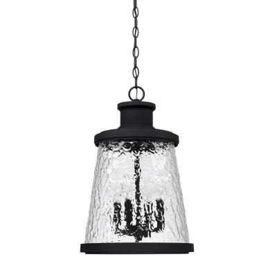 Capital lighting 926542bk four light outdoor hanging lantern black