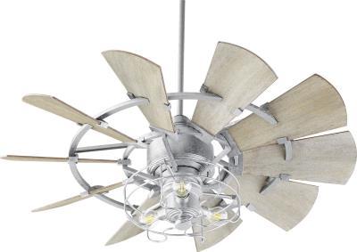 Quorum Lighting 1905-9 Windmill Light Kit Galvanized