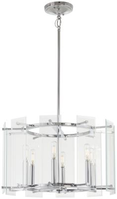 Minka-Lavery - 2394-77 - Beacon Trace - Six Light Pendant - Chrome  sc 1 st  Brothers Lighting & Brothers Lighting