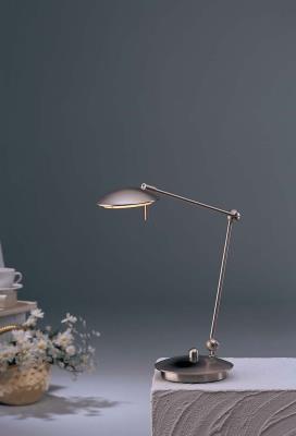 Holtkotter 6238led Sn Led Desk Lamp With Adjule Arm