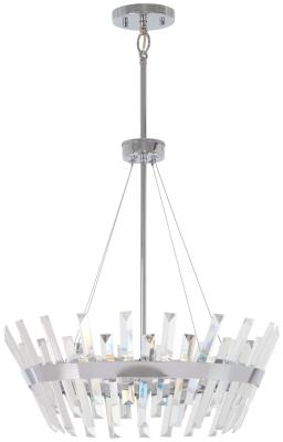 chuckanut lighting. Minka-Lavery - 4816-77 Six Light Pendant Chrome Chuckanut Lighting