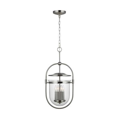 Good Murray Feiss   P1488SN   Osborne   Four Light Pendant   Satin Nickel