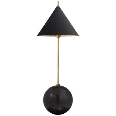 Vc Kelly Wearstler Kw 3118ab Blk From Cleo Antique Burnished Brass