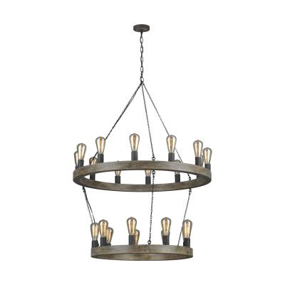 Murray Feiss   F3934/21WOW/AF   Avenir   21 Light Chandelier   Weathered Design