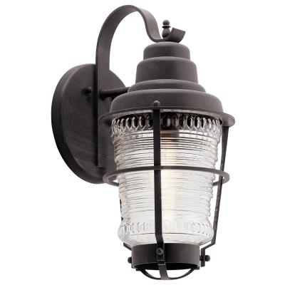 Kichler 49937wzc Chance Harbor One Light Outdoor Wall Mount Weathered Zinc
