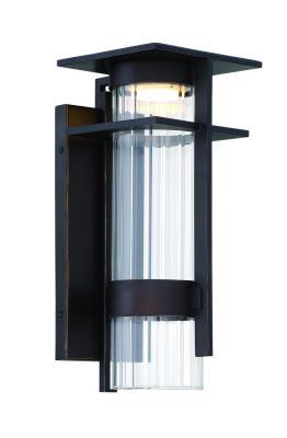 "Kichler 49191WZC Riverwood 1 Light 12.5/"" High Outdoor Wall Sconce"