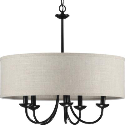 225 & Mid. Chandeliers - Drum Shades | Bulb Lighting and Design