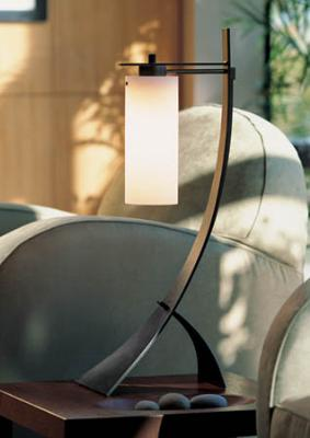 Hubbardton Forge Stasis One Light Table Lamp